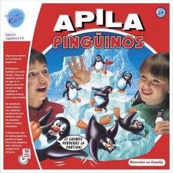 JUEGO APILA PINGUINOS IMPOR JUGUETO