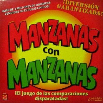 JUEGO MANZANAS CON MANZANAS