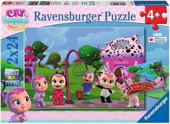 PUZZLE BEBES LLORONES 2X24 PZAS RAVENSBURGUER 051038