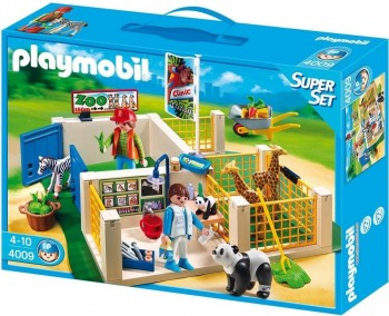 PLAYMOBIL CLINICA VETERINARIA 4009