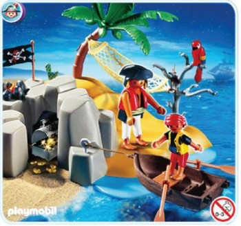 PLAYMOBIL ISLA PIRATA 4139
