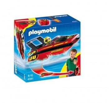 PLAYMOBIL LANCHA DE CARRERAS 4341