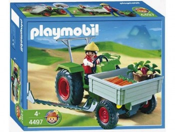 PLAYMOBIL TRACTOR 4497
