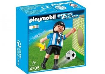 PLAYMOBIL JUGADOR ARGENTINA 4705