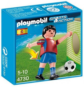 PLAYMOBIL JUGADOR FUTBOL ESPAÑA 4730