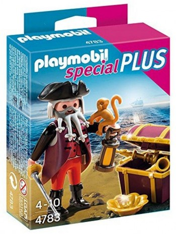 PLAYMOBIL PIRATA C/COFRE 4783