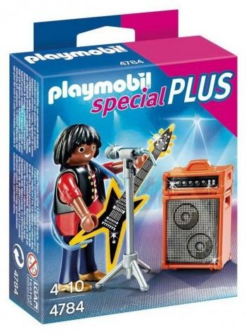 PLAYMOBIL ESTRELLA DEL ROCK 4784