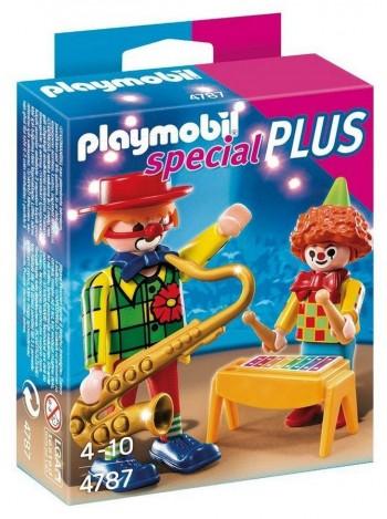 PLAYMOBIL PAYASO C/INSTRUMENTOS 4787