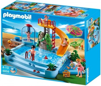PLAYMOBIL PISCINA 4858