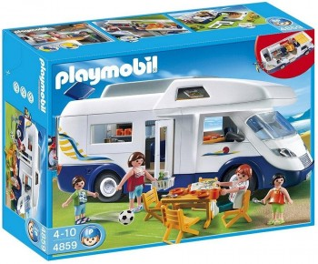 PLAYMOBIL CARAVANA FAMILIAR 4859