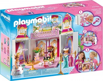 PLAYMOBIL PRINCESAS COFRE PALACIO REAL 4898