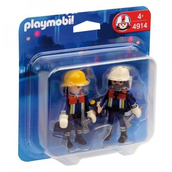 PLAYMOBIL DUO PACK BOMBEROS 4914