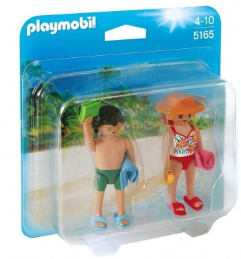 PLAYMOBIL DUO PACK TURISTAS 5165