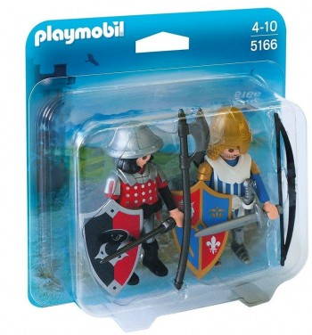 PLAYMOBIL DUO PACK CABALLEROS 5166
