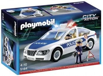 PLAYMOBIL COCHE POLICIA 5184