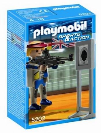 PLAYMOBIL TIRO OLIMPICO 5202