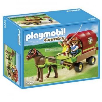 PLAYMOBIL CARRETA CON PONI 5228