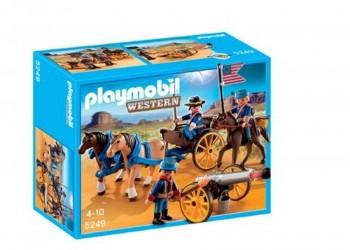 PLAYMOBIL SOLDADOS AMERICANOS C/CAÑON 5249