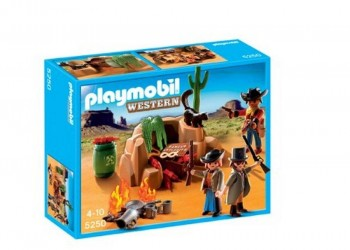 PLAYMOBIL ESCONDITE BANDIDOS 5250
