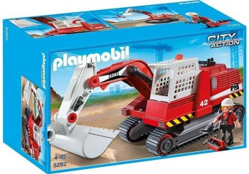 PLAYMOBIL EXCAVADORA 5282