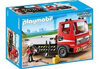 PLAYMOBIL CAMION CONSTRUCCION 5283
