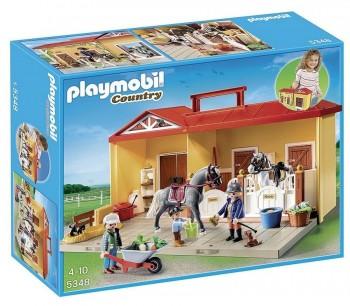 PLAYMOBIL ESTABLO DE CABALLOS 5348