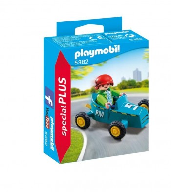PLAYMOBIL PLUS COCHE CARRERAS 5382