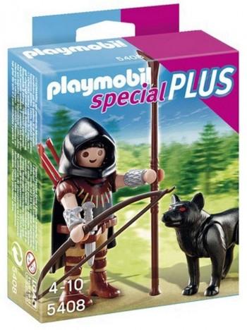 PLAYMOBIL CABALLERO DEL LOBO 5408