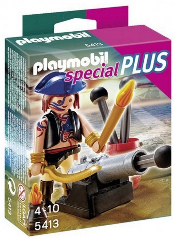 PLAYMOBIL PIRATA C/CAÑON 5413