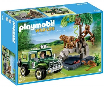 PLAYMOBIL ANIMALES JUNGLA 5416