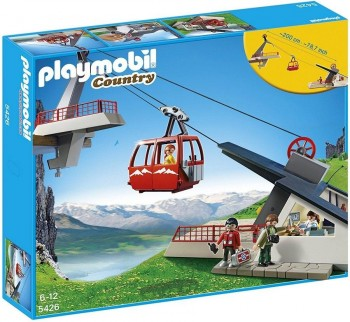 PLAYMOBIL TELEFERICO DE LOS ALPES 5426
