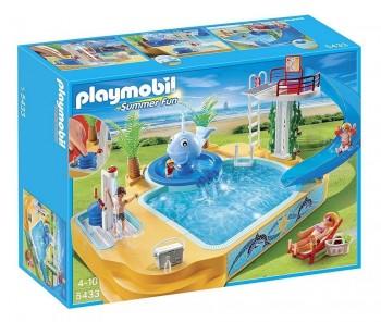 PLAYMOBIL PISCINA C/FUENTE 5433