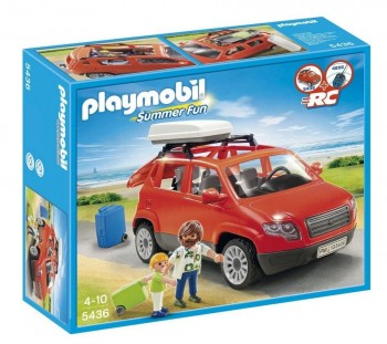 PLAYMOBIL COCHE FAMILIAR 5436