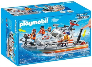 PLAYMOBIL BARCO RESCATE C/MANGUERA 5540