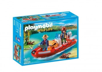 PLAYMOBIL BOTE HINCHABLE 5559