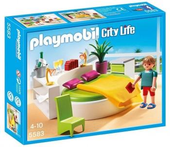 PLAYMOBIL DORMITORIO MODERNO 5583