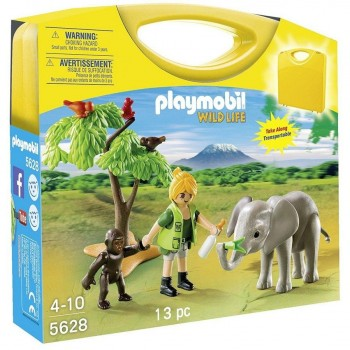 PLAYMOBIL MALETA SAFARI 5628