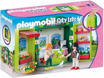 PLAYMOBIL CITY LIFE COFRE FLORISTERIA 5639