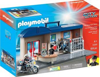 PLAYMOBIL CITY MALETIN ESTACION DE POLICIA 5689