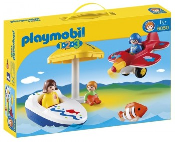 PLAYMOBIL 1 2 3 DIVERSION DE VACACIONES 6050