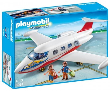 PLAYMOBIL AVION VACACIONES 6081