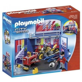 PLAYMOBIL COFRE MOTOS 6157