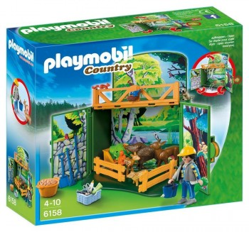 PLAYMOBIL COFRE BOSQUE 6158