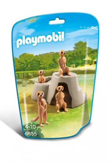 PLAYMOBIL SURICATOS 6655