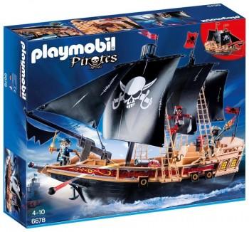 PLAYMOBIL BARCO PIRATA 6678
