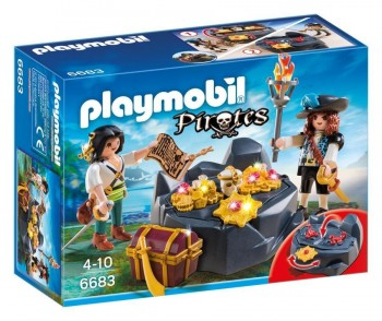 PLAYMOBIL ESCONDITE PIRATA 6683