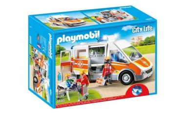 PLAYMOBIL AMBULANCIA 6685