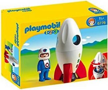 PLAYMOBIL 1 2 3 COHETE/ASTRONAUTA 6776