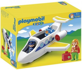 PLAYMOBIL 1 2 3 AVION 6780