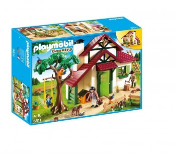 PLAYMOBIL COUNTRY CASA DEL BOSQUE 6811